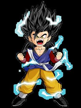 Kid Boku Ssj2 V1 By Dbzartist94 Anime Dragon Ball Super Kid Goku Dragon Ball Super