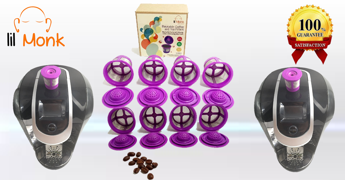 Buy and Get Single Refillable #lilMonk #K_Cup #K200, #K300, #K400 and #K500 Series Perfectly Designed Premium Quality K Cup Holder at very cheap price@ https://goo.gl/zCxu3J