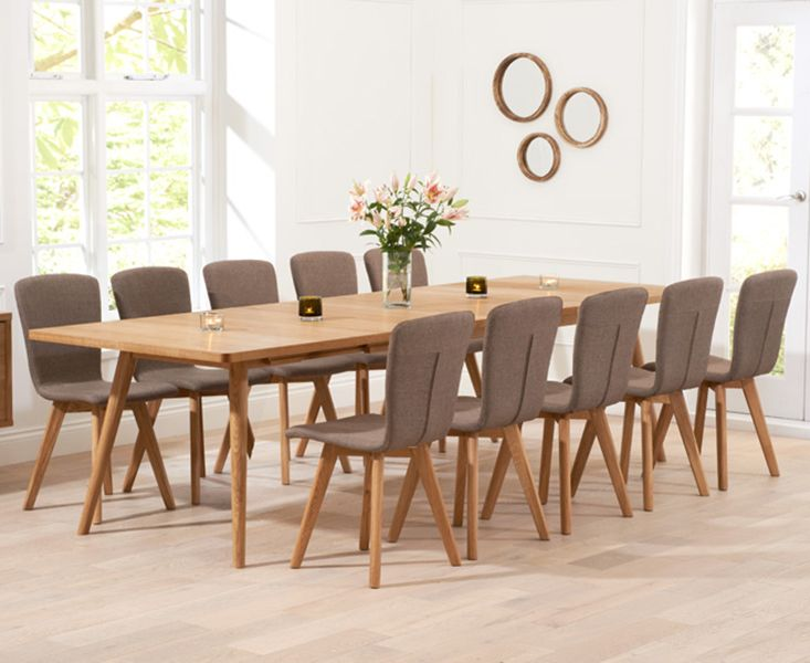 Shop The Tivoli Retro Oak Extending Dining Table And Chairs At Furniture Superstore Quick Delivery With APR Available
