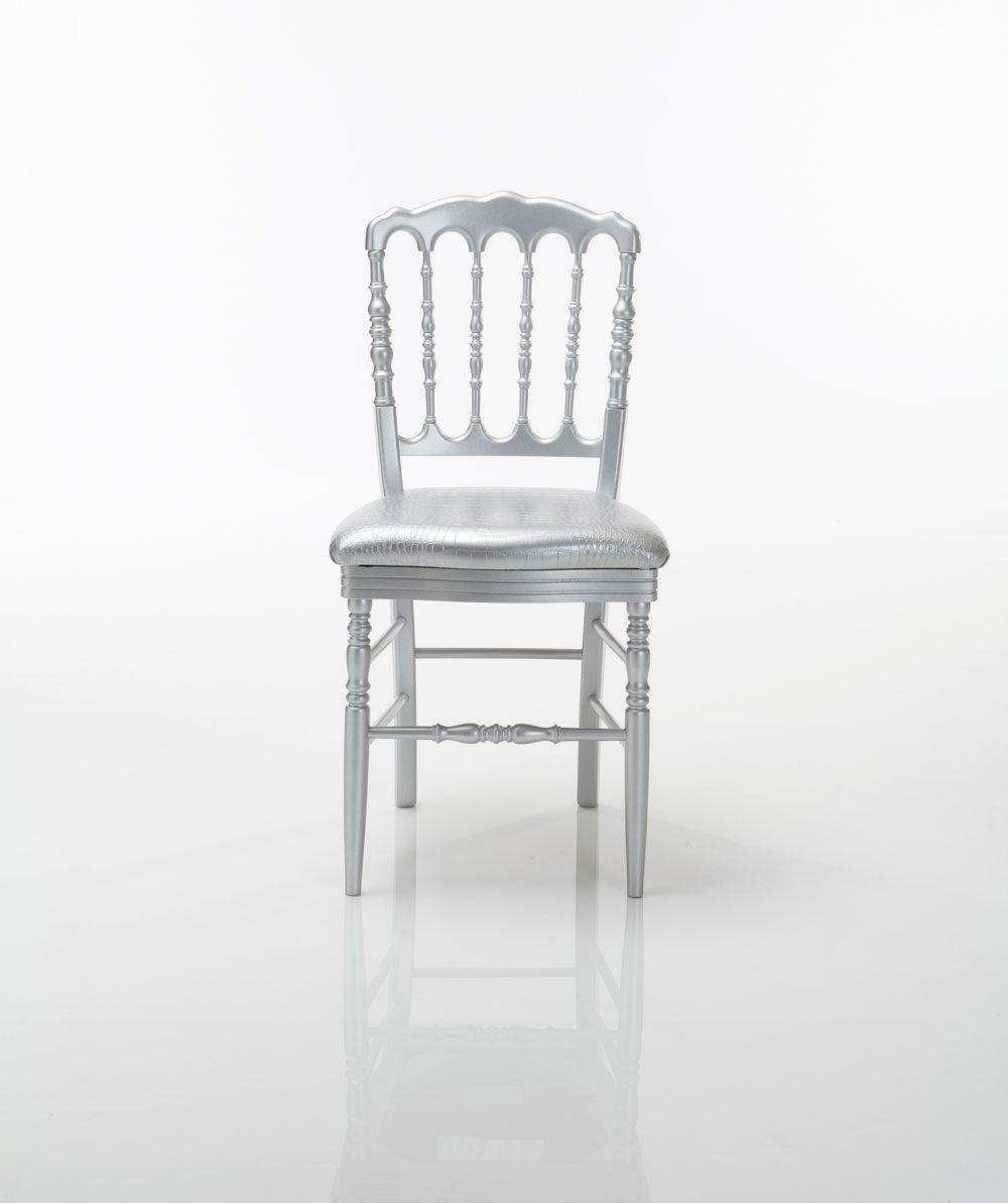 Silver Wedding Chair