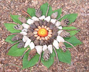 Kinder Lieben Die Natur. Mit Unseren Tollen Gratis Basteltipps ... Basteln Mit Naturmaterial