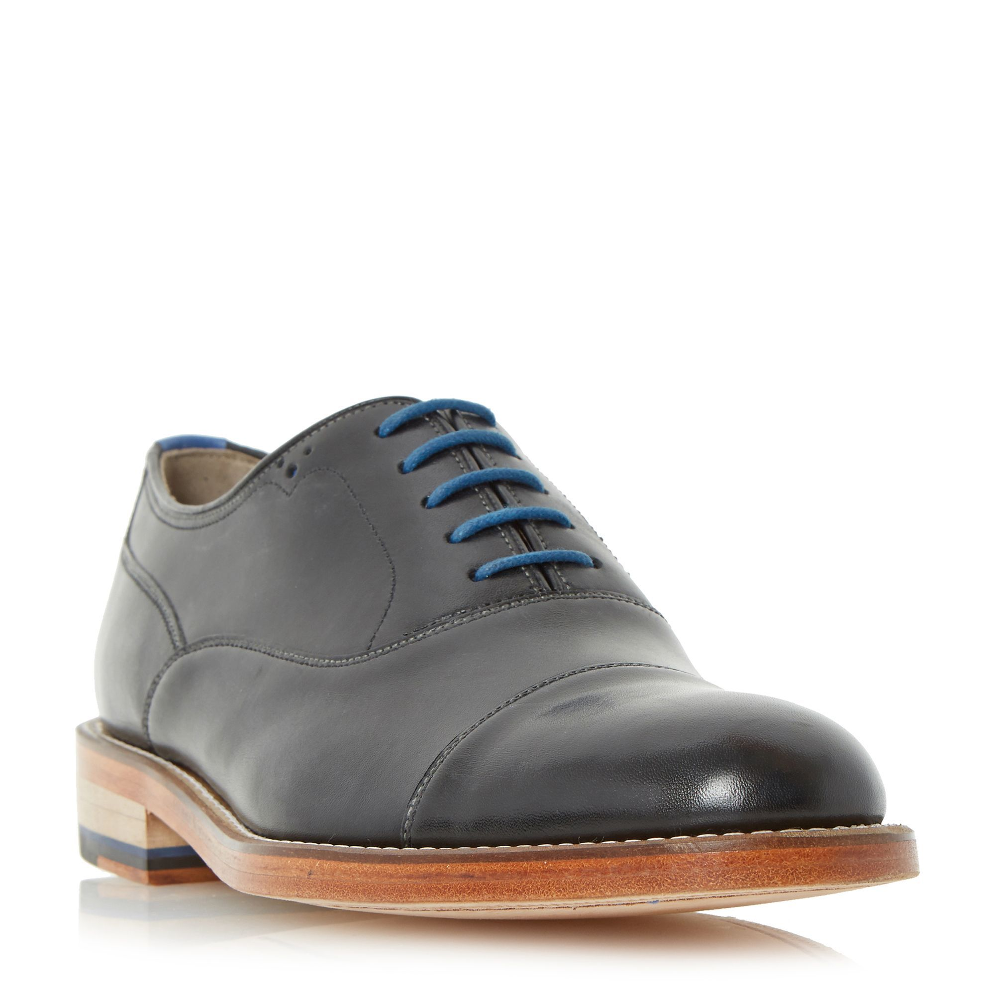 Oliver Sweeney Lupton toecap leather oxford shoes, Black