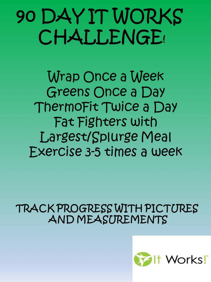 join our 90 day it works challenge click on the pin to order today