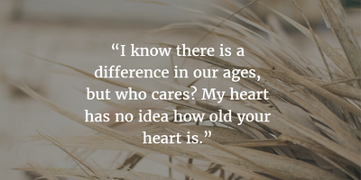 21 Profound Quotes on Love and Age Difference