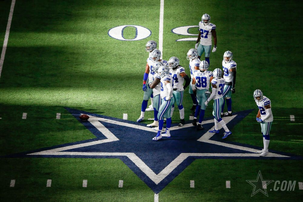 October 8, 2017 Dallas Cowboys Week 5 game against the
