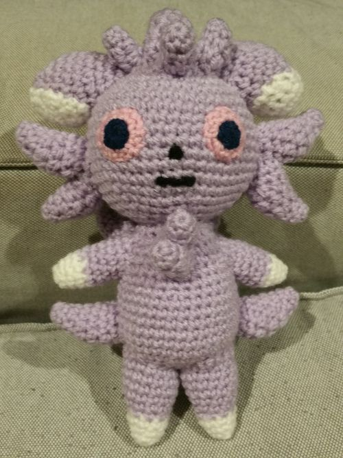 This Espurr When Completed In Dk Weight Yarn Is 23cm 9 Inches Tall