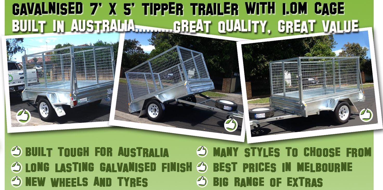 Get Online Car Trailer for sale in Melbourne with 100% new parts ...