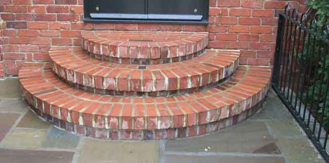 Semi Circle Front Steps | ... Property As Above We Created This Semi  Circular