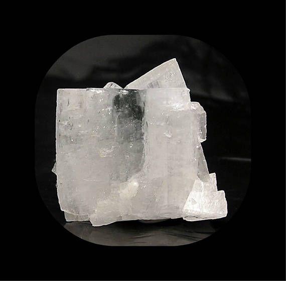 Adularia Orthoclase Gem Feldspar White Crystal Cluster With Etsy Crystals Feldspar Gems