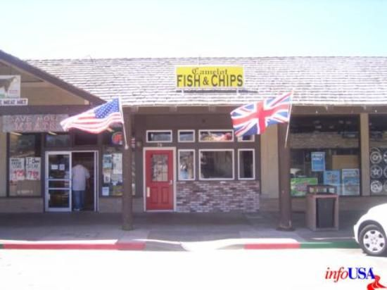 Camelot Fish Chips In Pacifica California The Best I Ve Had Anywhere Including England