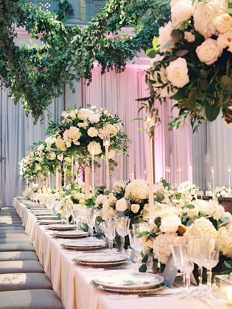 20 Ways To Transform Your Reception Space Wedding CenterpiecesWedding