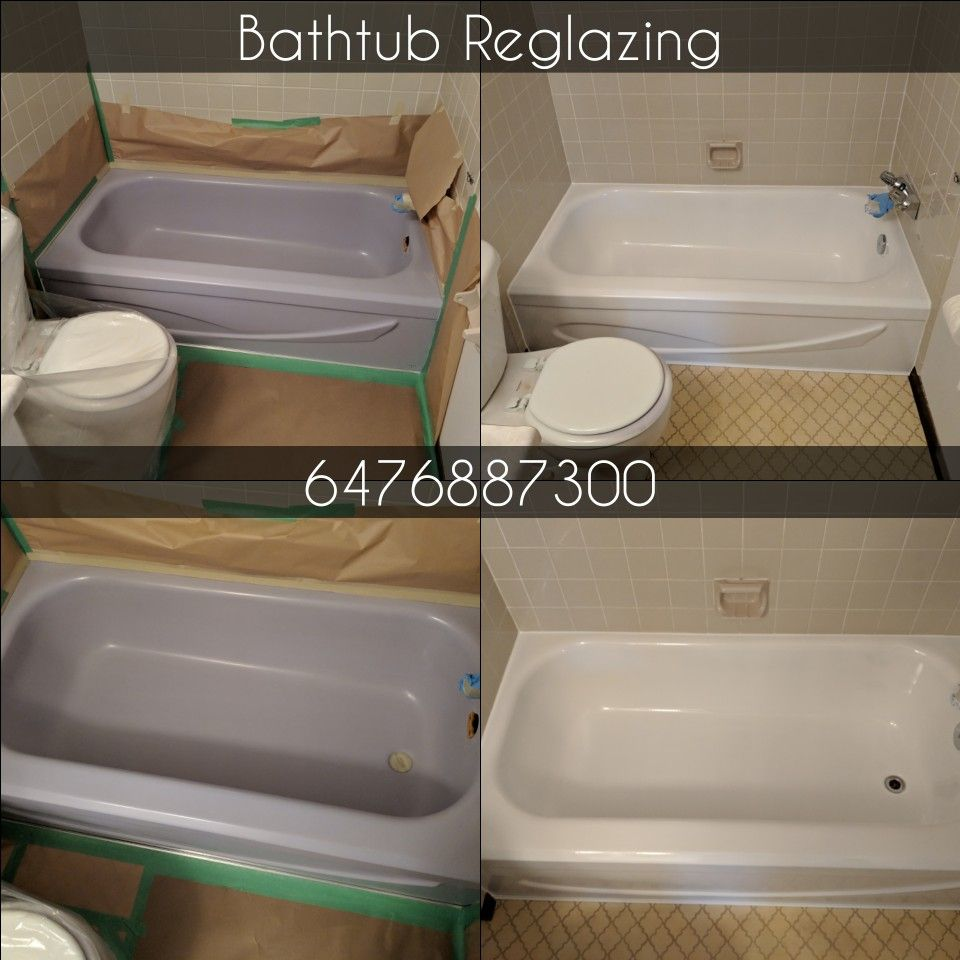 Tub And Tile Reglazing Is A Time And Cost Effective Alternative To