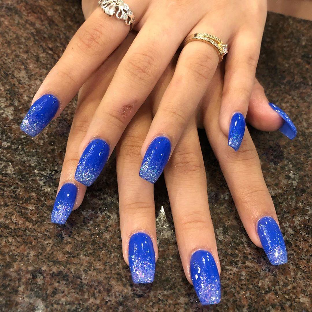 Royal Blue Nails: 33 Amazing Royal Blue Nail Ideas From Instagram Royal Blue Nails: 33 Amazing Royal Blue Nail Ideas from Instagram Nail Ideas nail ideas royal blue
