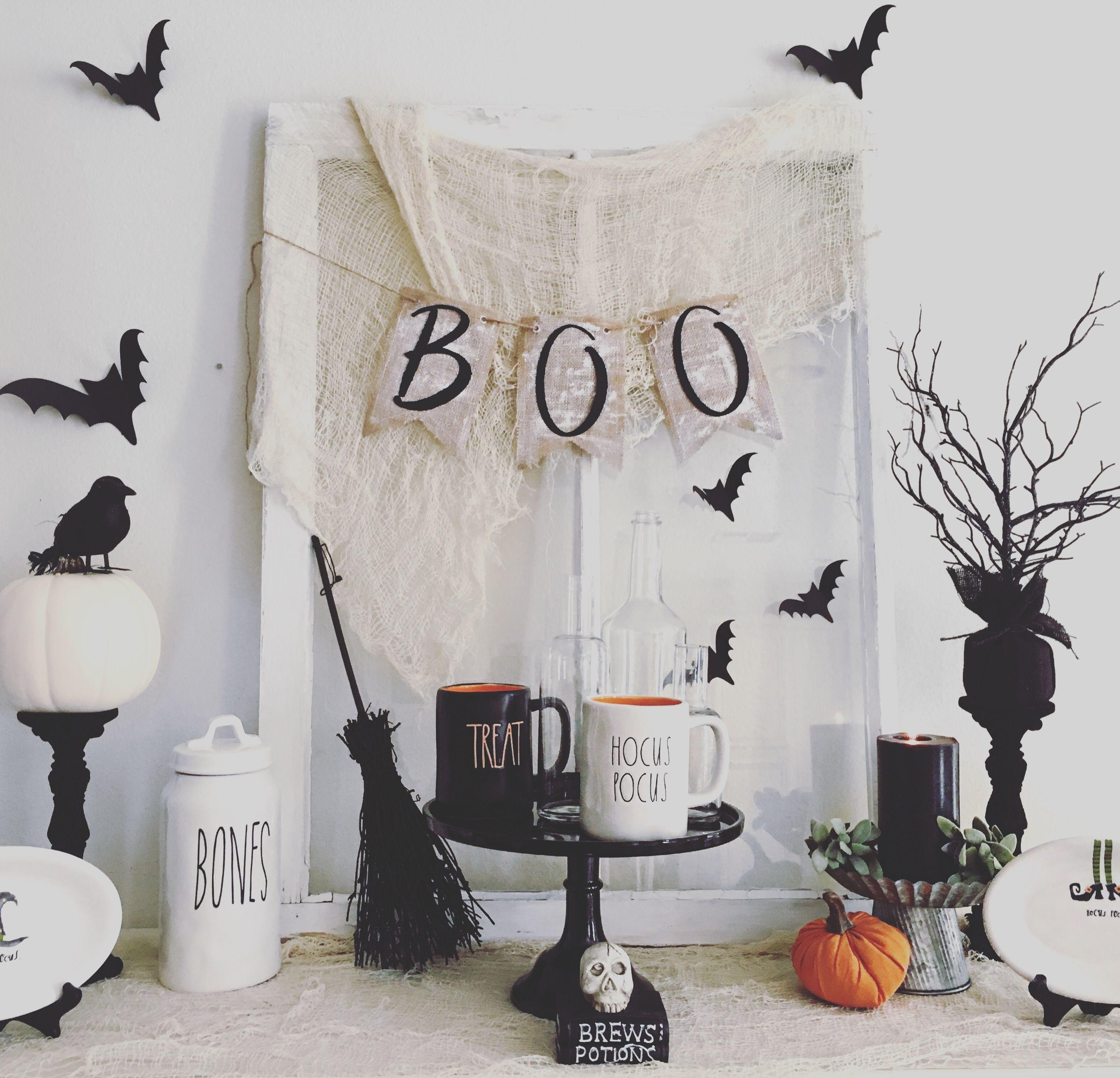 Halloween armoire, Halloween home decor,farmhouse, farmhouse ...
