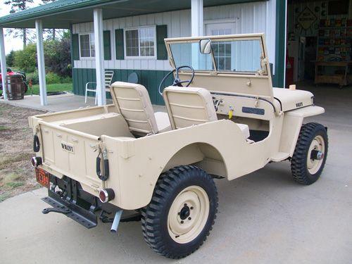Russ Ohnstad Willys Jeep Mini Jeep Jeep