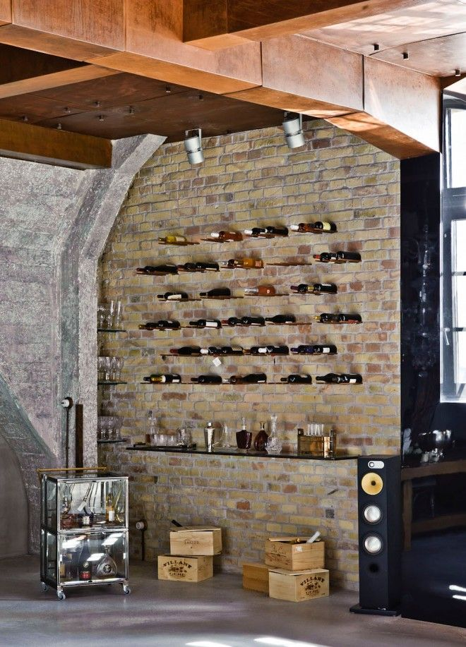 Cool Industrial-Style Loft in Budapest | Copper, Wine cellar and ...