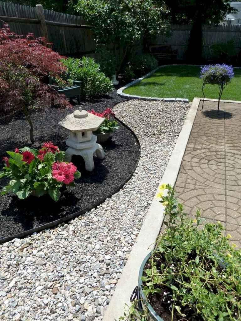 24 Beautiful Front Yard Rock Garden Ideas Japanese Garden Design Rock Garden Landscaping Front Yard Landscaping Design