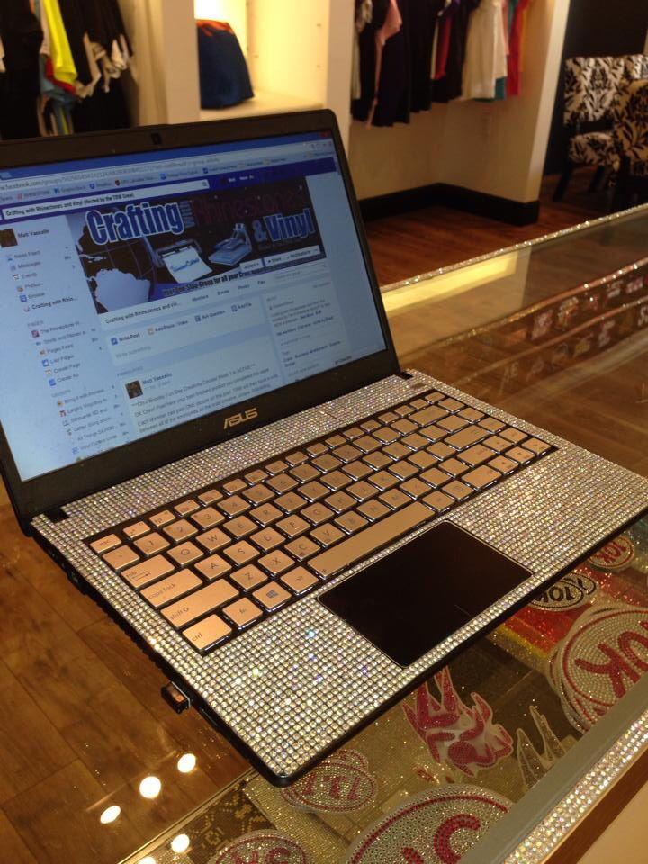 Bling laptop