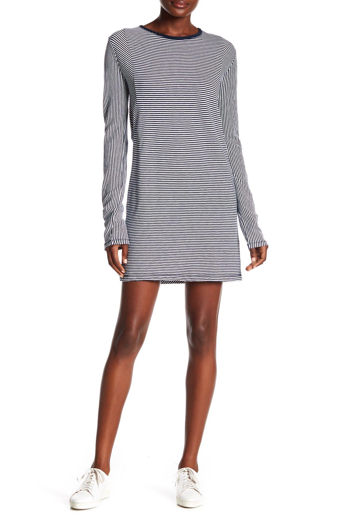 Striped Knit Dress By Rag Bone On Nordstrom Rack Striped Knit Dress Striped Knit Knit Dress [ 1800 x 1200 Pixel ]