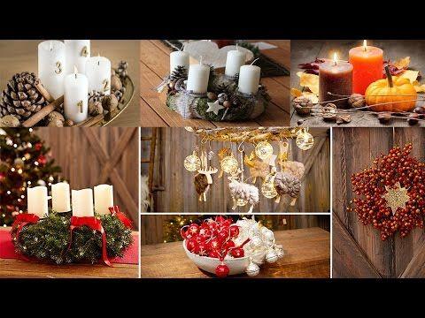 adventskr nze adventsgestecke ideen f r einen sch nen adventskranz dekorieren youtube. Black Bedroom Furniture Sets. Home Design Ideas