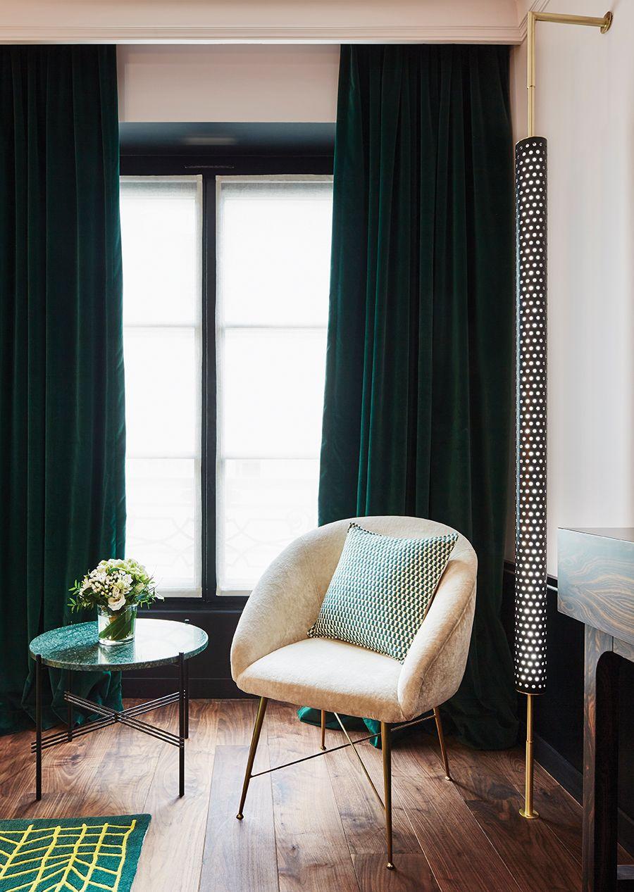 Decor Sens Escapade Numero 36 Le Roch Hotel Decoration Verte Inspiration Salon