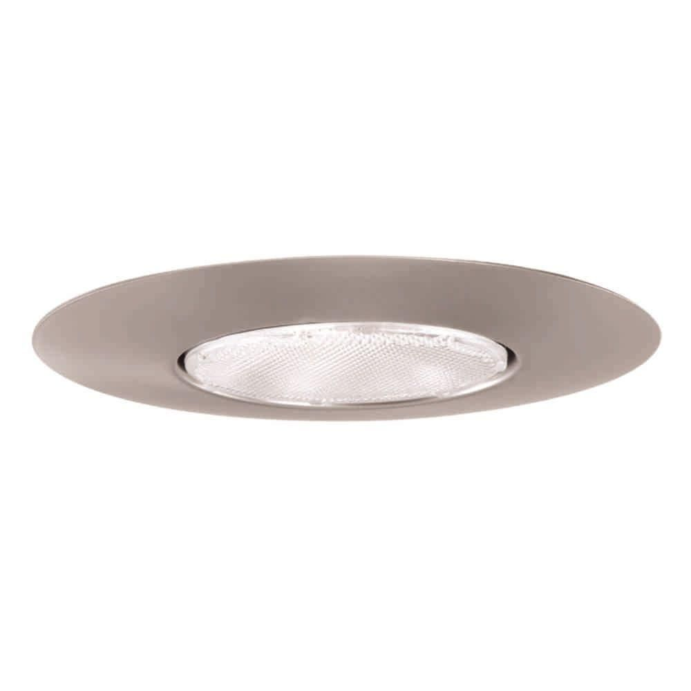 Halo 300 Series 6 In Satin Nickel Recessed Ceiling Light