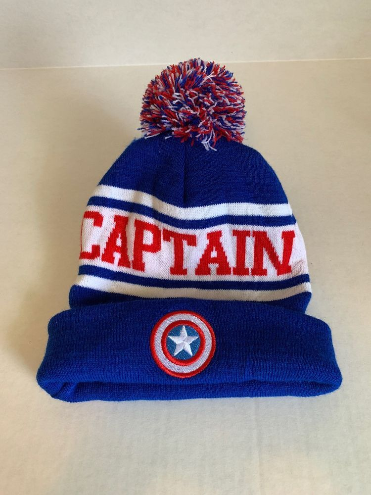 0c38d31a24983c Marvel Captain America Beanie - Winter Hat #fashion #clothing #shoes  #accessories #mensaccessories #hats (ebay link)