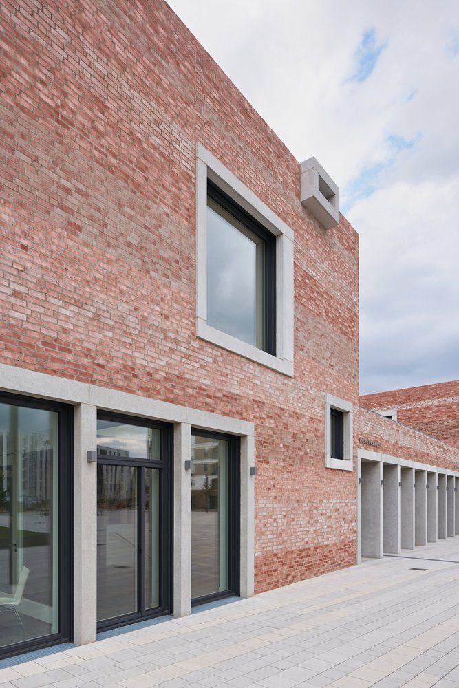 Architekt Emsdetten gallery of and community center b gadamerplatz datscha