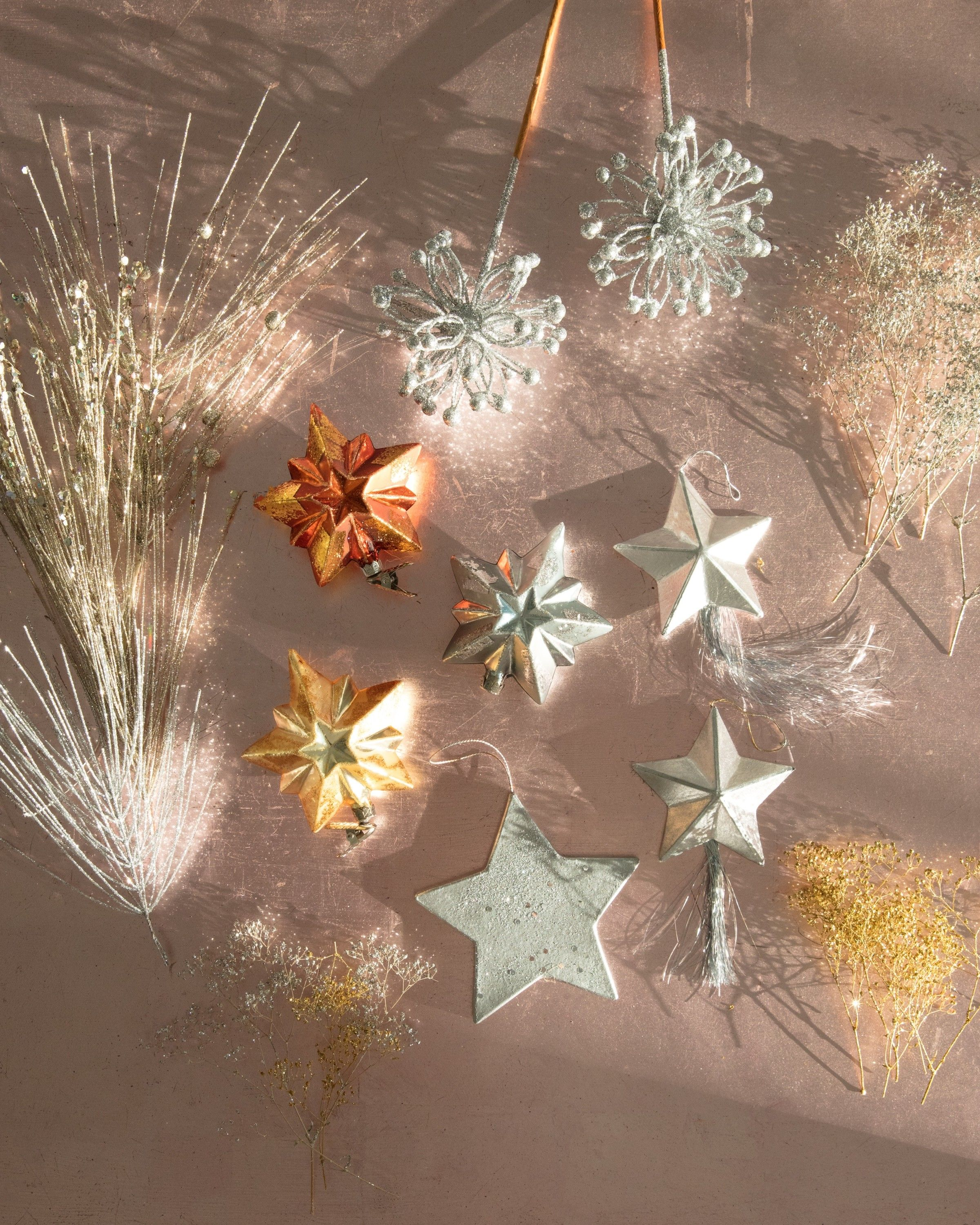 Martha Stewart Christmas Tree Topper: Behold: A Celestial Christmas Tree With Real Star Power