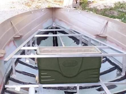 Image Result For Aluminium Boat False Floor Jon Boat Boat Restoration Boat