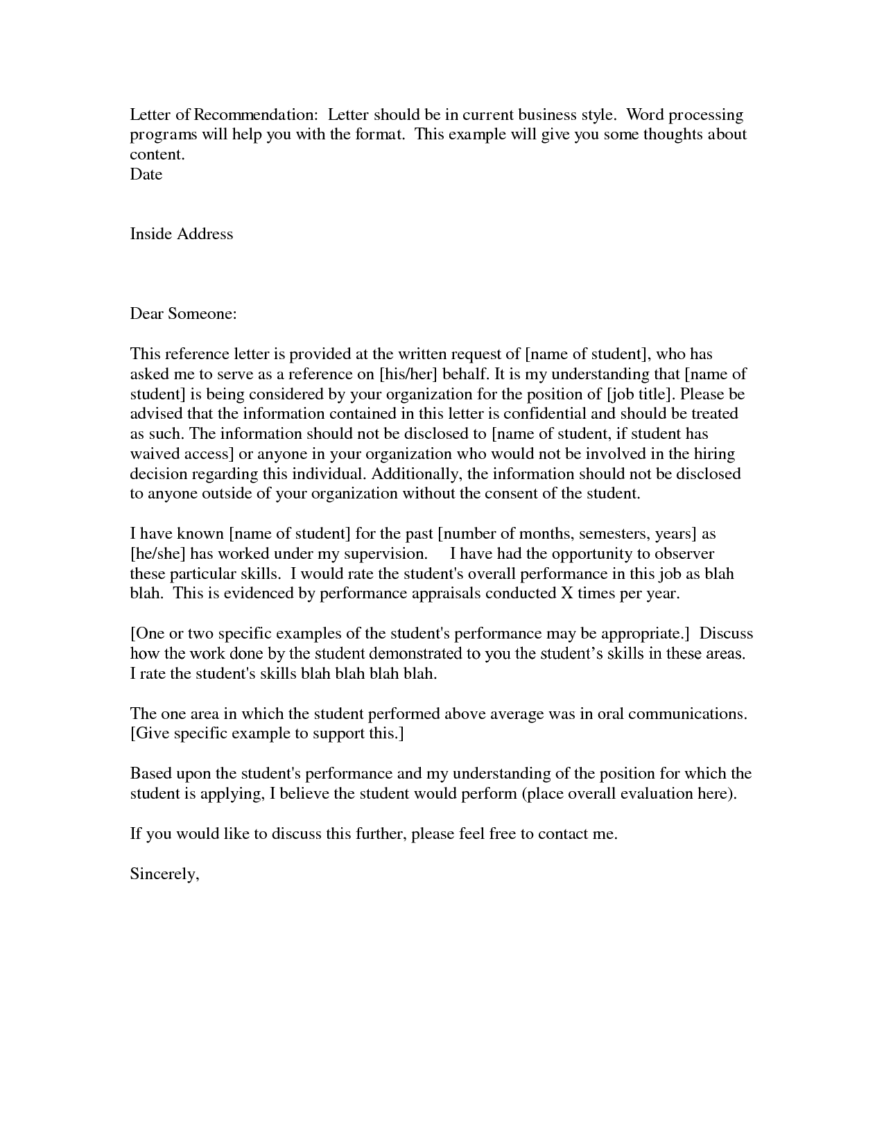 [ Business Recommendation Letter Sample With Lucy Jordan Png Termination  Example Template And Format ]   Best Free Home Design Idea U0026 Inspiration  Free Recommendation Letters