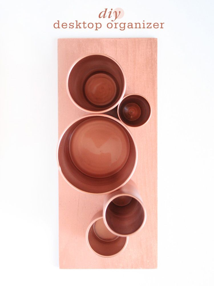 diy desktop organizer selfmade b ros und wohnideen. Black Bedroom Furniture Sets. Home Design Ideas