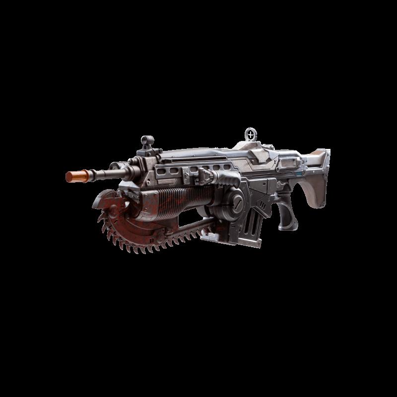 Gears of War 4 Prop Replica Customized Lancer | Major - Laser Weapon