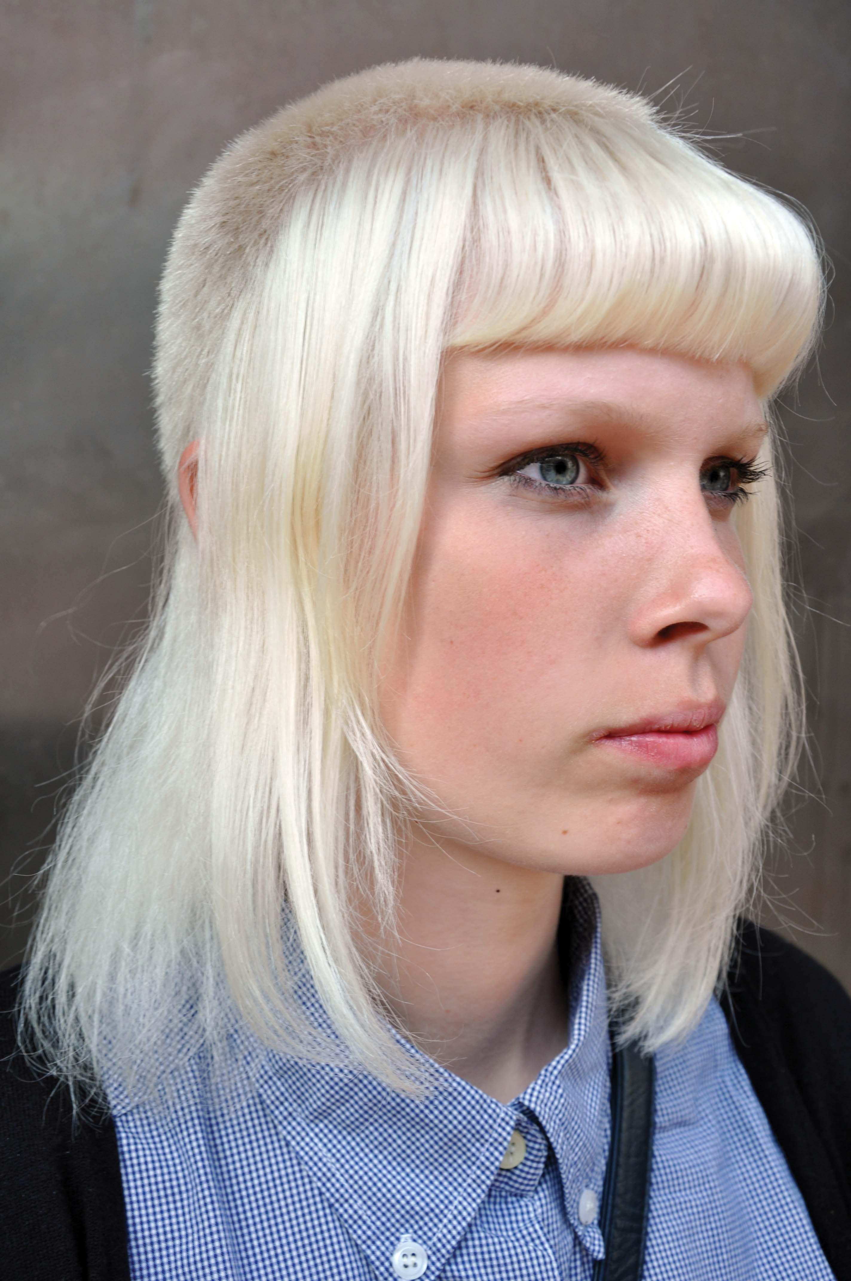 Swedish Skinhead girl