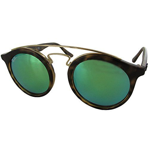 6c8d16534b RayBan INJECTED UNISEX SUNGLASS MATTE HAVANA Frame GREEN MIRROR GREEN  Lenses 46mm NonPolarized -- Continue to the product at the image link.
