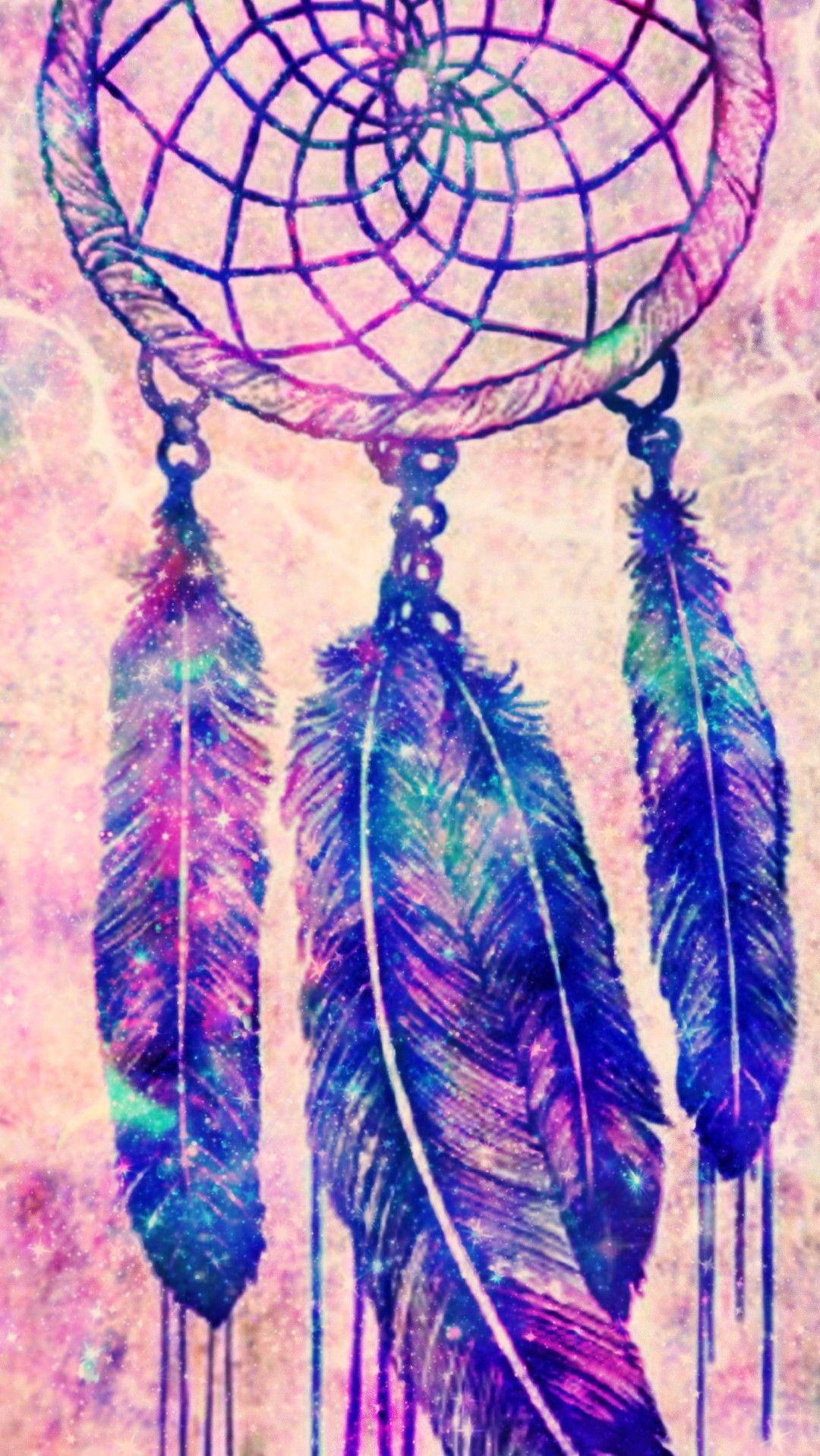 Galaxy Abstract Dreamcatcher Made By Me Galaxy Glitter