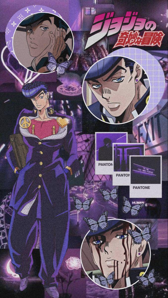 Josuke Higashikata Jojo S Bizarre Adventure Stands Jojo Anime Jojo Bizzare Adventure