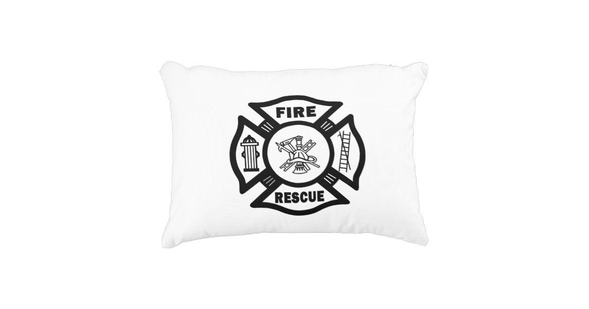 Fire Rescue Accent Pillow | Pillows