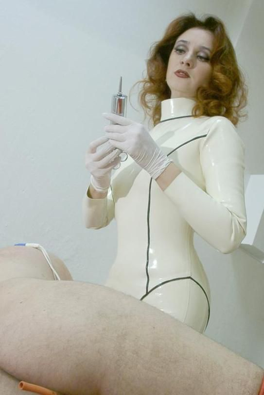 Excellent medical fetish enemas think, ...