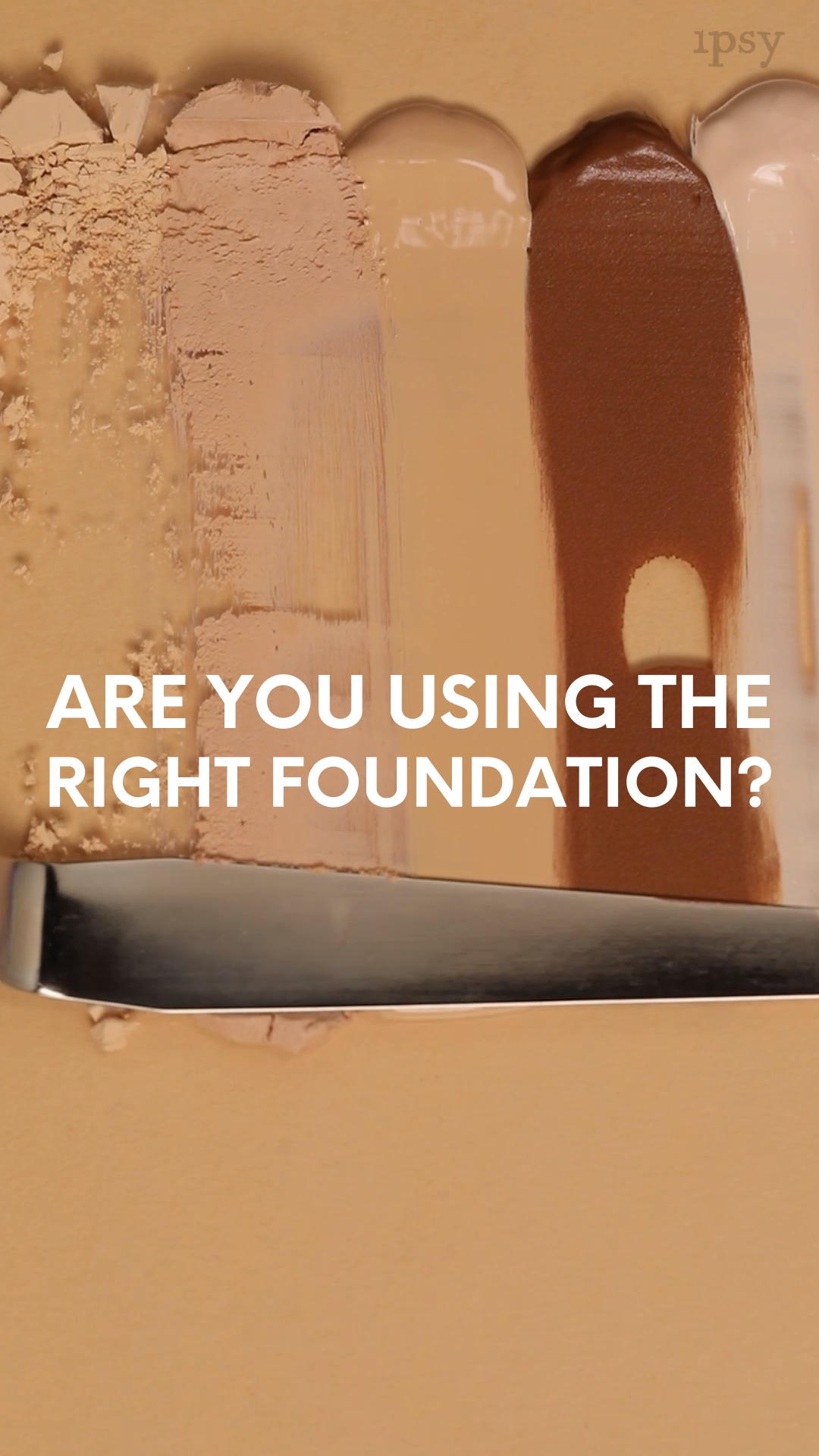 Are you using the right foundation? Bailey Sarian is