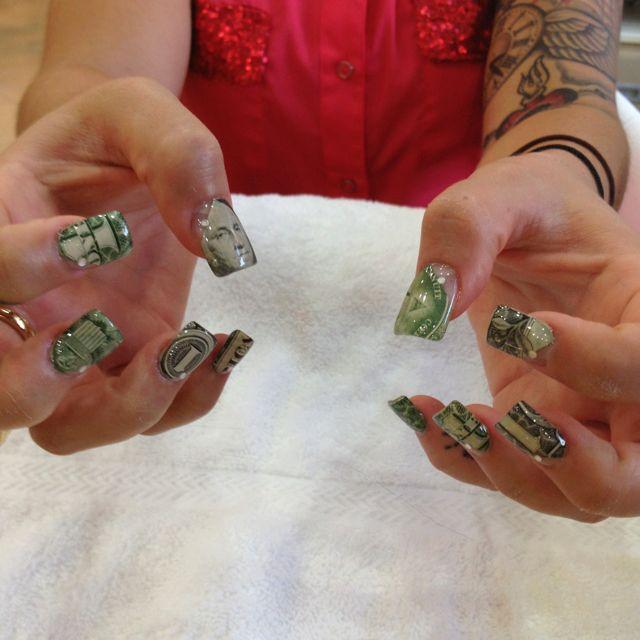 """Nails designs """"Money nails""""   Nails & Designs by hai ..."""