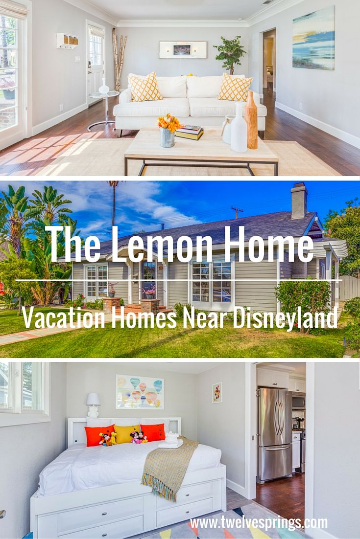 Beautiful and affordable vacation home near Disneyland.   The Lemon Home by Twelve Springs is a 4 bedroom, 2 bathroom historic gem with a game room.