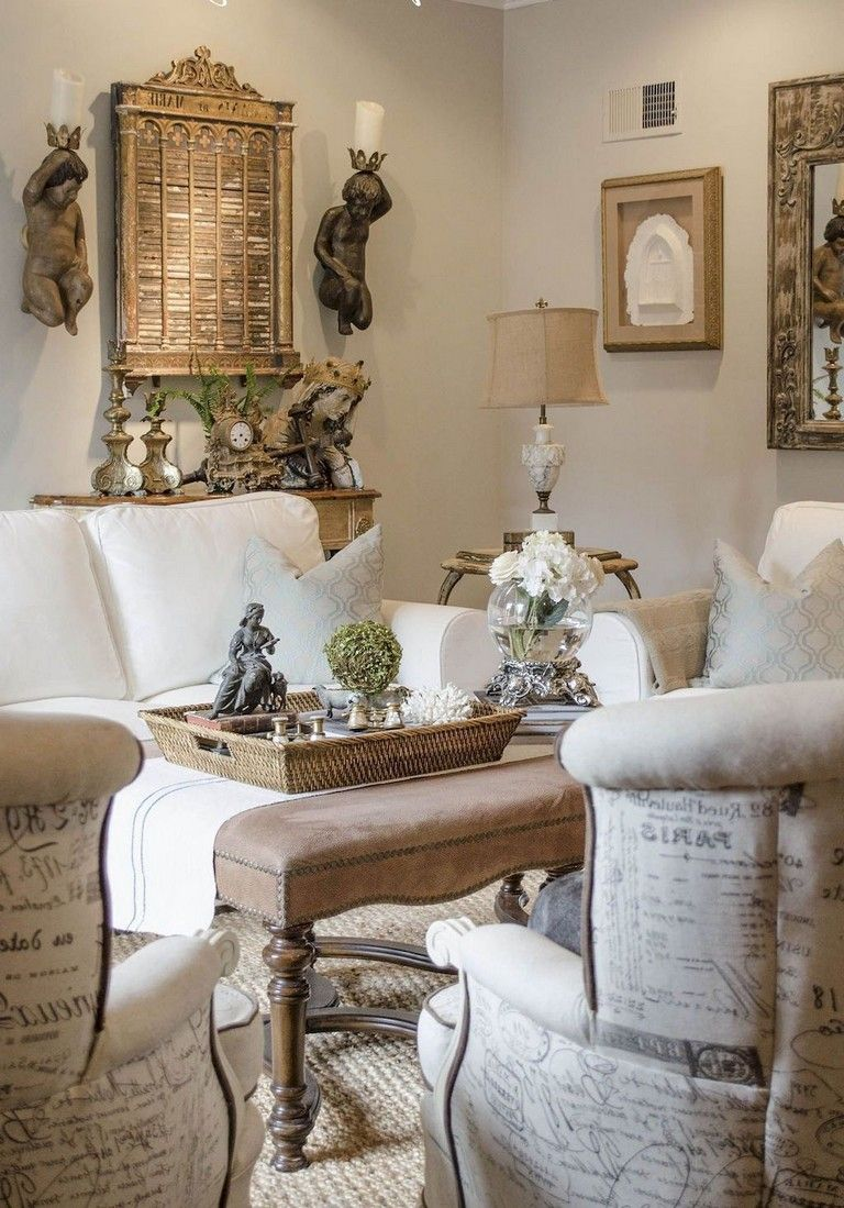 38 Wonderful French Country Living Room Decor Ideas Fr
