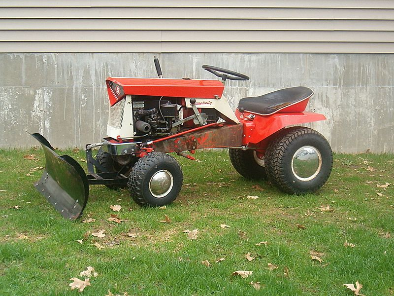 Find This Pin And More On Garden Tractors, Allis Chalmers Garden Tractors  By Brianmcanulty.