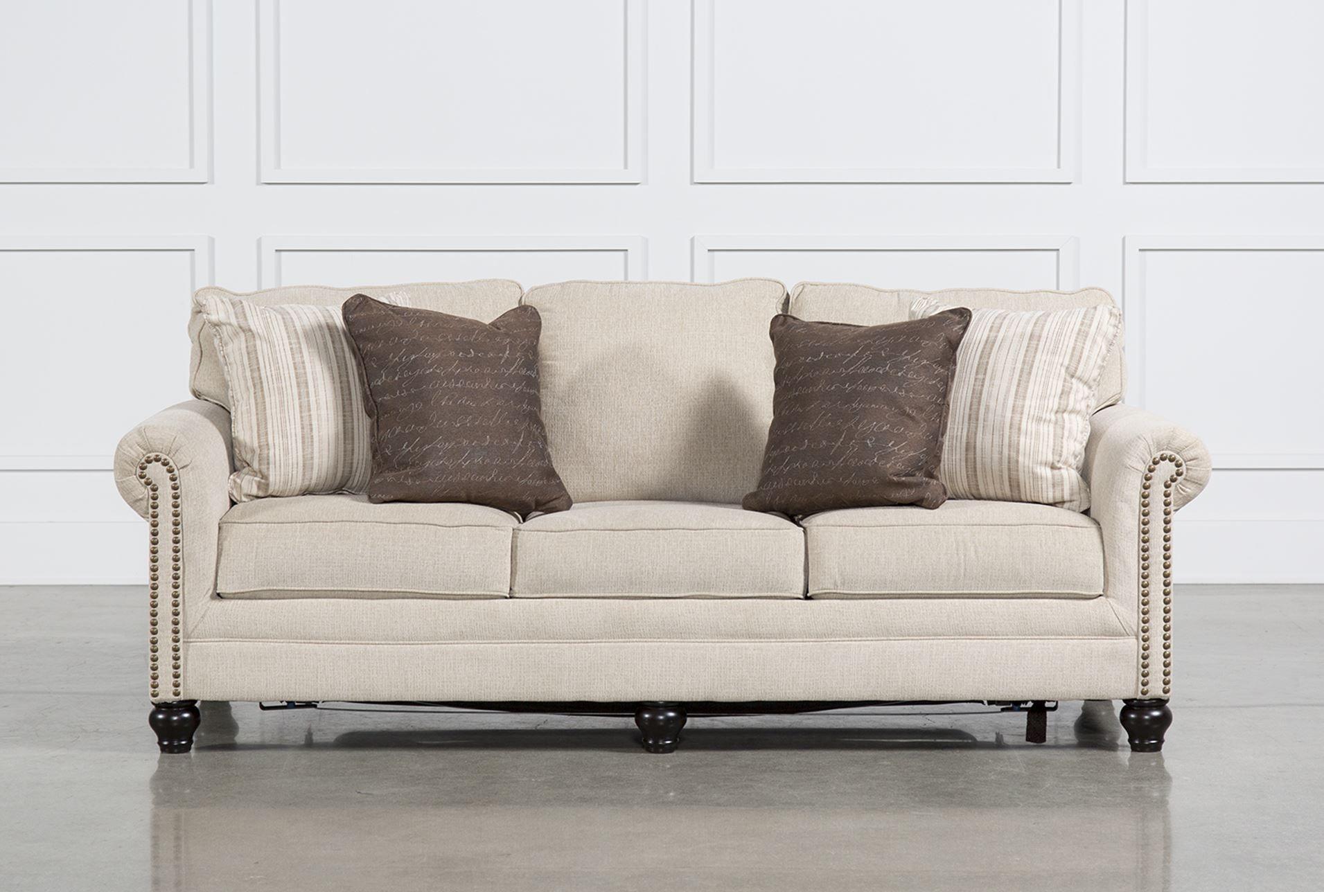 Milari Linen Queen Sofa Sleeper Signature