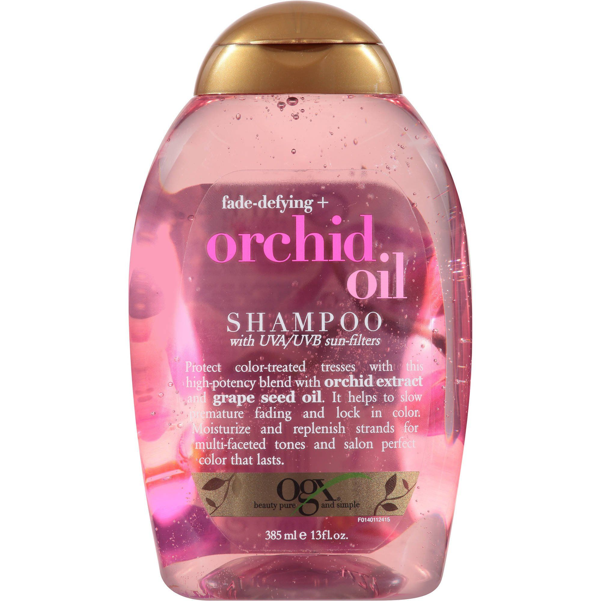Ogx Fade Defying Orchid Oil Shampoo And Conditioner Ogx Shampoo Ogx Hair Products Oil Shampoo