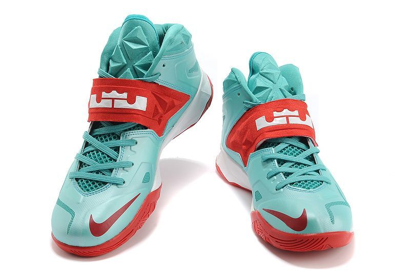 buy popular 1db11 b337b LeBron Zoom Soldier VII Mint Green Red  Nike LeBron Soldier-6267  -  67.99    lebronxlows.net sale LeBron X LOW LeBron 9 Low Lebron 8 Low and Hyperdunk  low