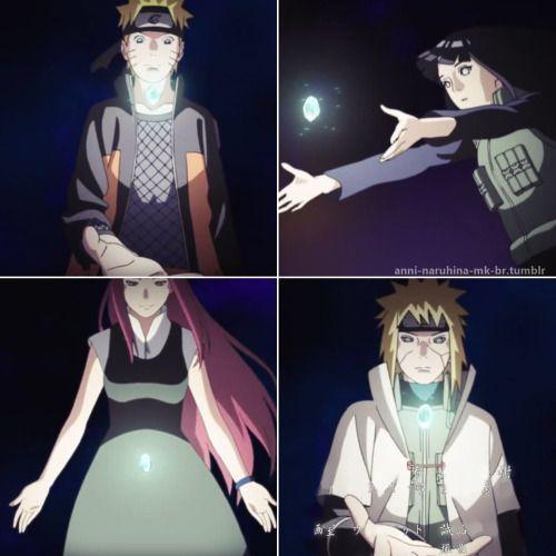 Naruto, Hinata, Kunshina, Minato