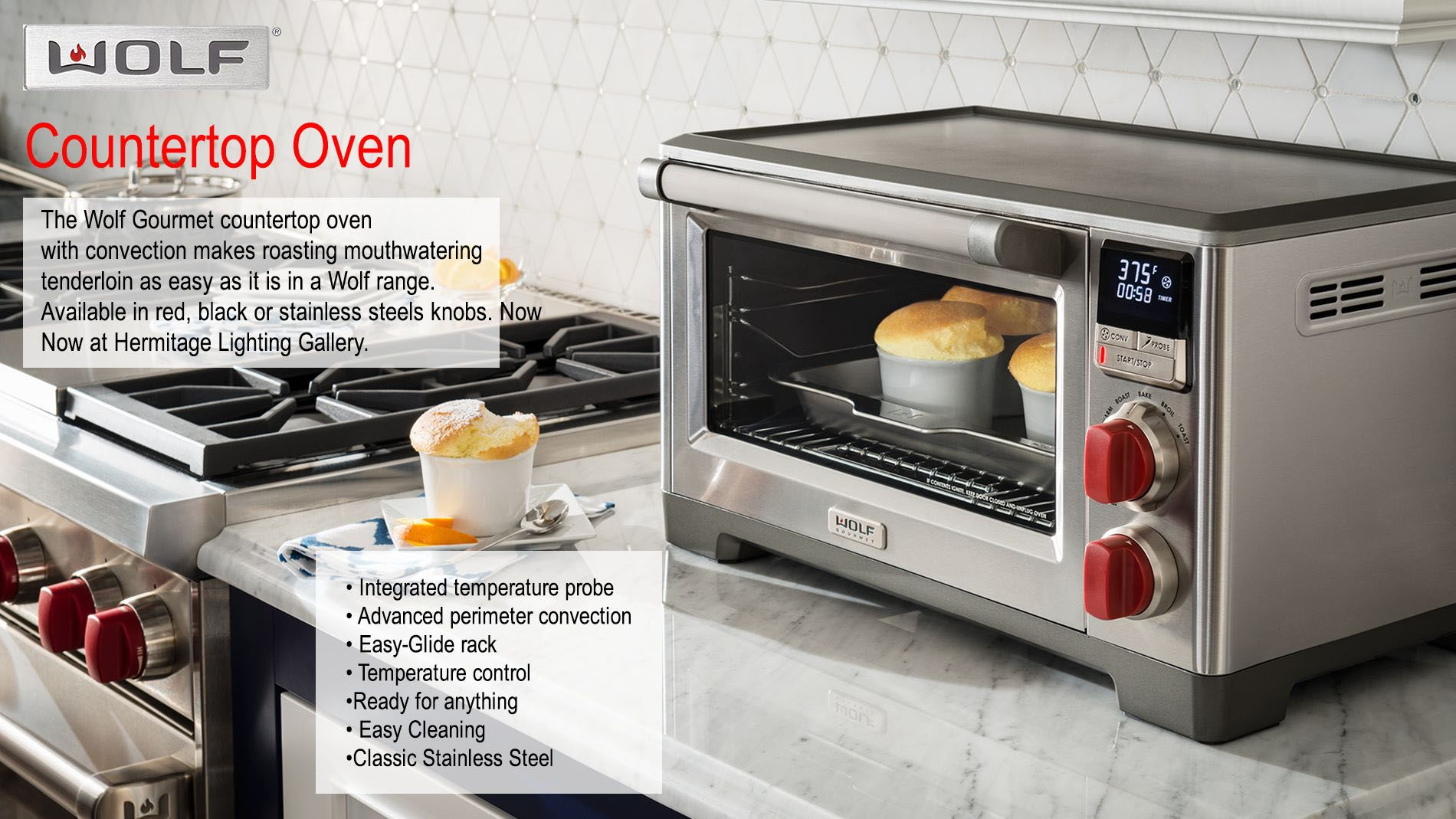 Introducing Wolf Gourmet Countertop Appliances And Kitchen Tools