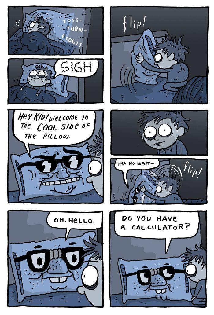 The Cool Side Of The Pillow Good Cartoons Fun Comics Cool Stuff